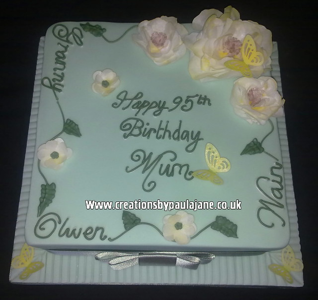 95th Birthday Cake Flickr - Photo Sharing!