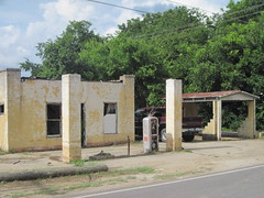 Abandoned Gas Station, Pilot Point, Texas