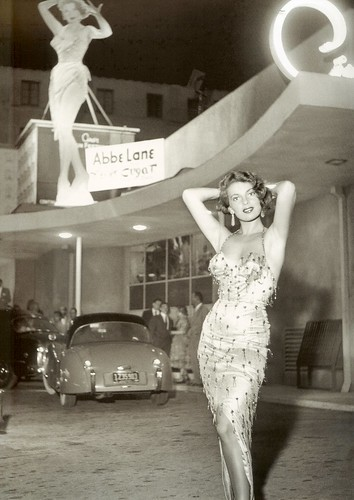abbe lane at ciro's 1954