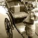 Hand-pulled Rickshaw, Kolkata by Suman Chatterjee