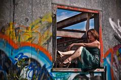 In graffiti window