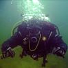 Dive Buddy Rob with new toyz