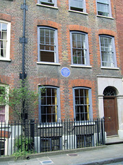 Photo of Mark Gertler blue plaque