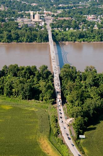 Hwy 47 bridge at Washington, MO