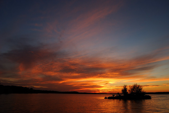 Sunset At Cedar Ridge Stockton Lake Missouri Flickr