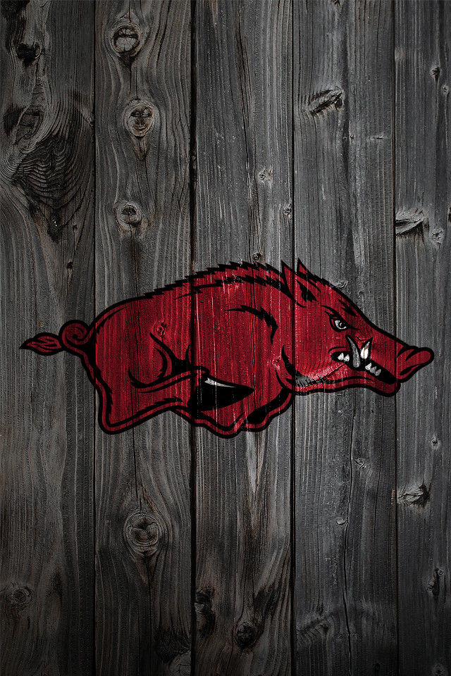 Arkansas Razorbacks Wood Iphone 4 Background A Photo On HD Wallpapers Download Free Images Wallpaper [1000image.com]