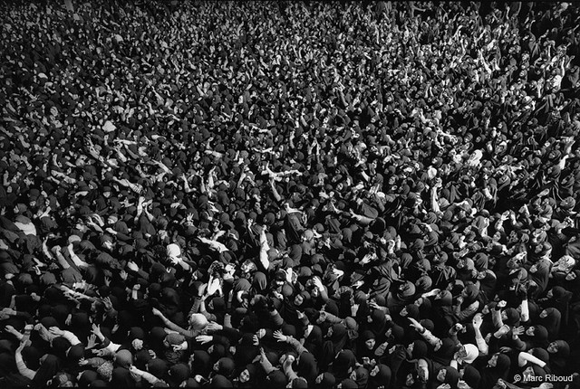 Iranian Revolution, by Marc Riboud 1979