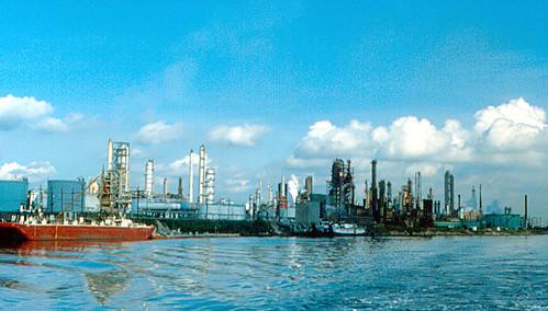 Houston Ship Channel -...