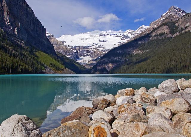 Scenic Lake Louise by flickr user MarilynJane