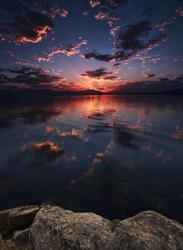 california county sunset sea sunrise riverside salton