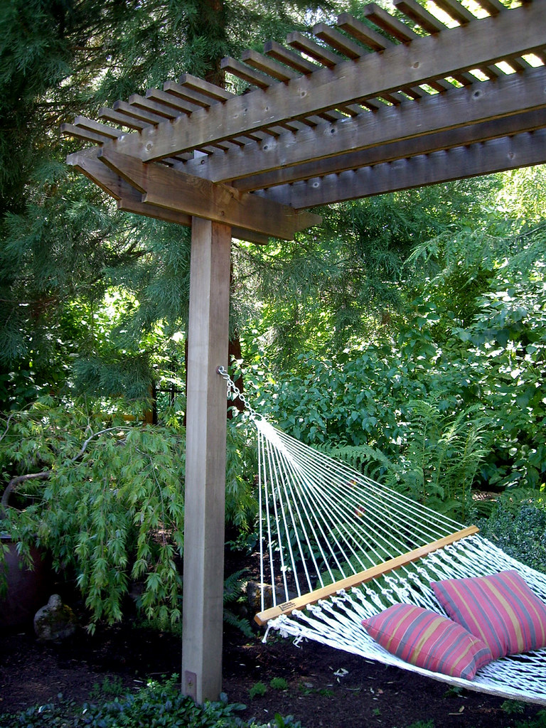 Backyard Hammock Design Outdoor Hammock Top Easy Backyard Garden Decor Design Project