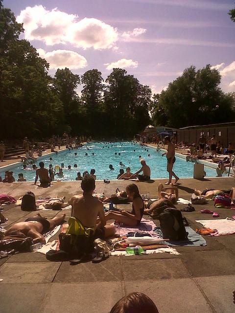 Jesus Green Swimming Pool Cambridge Flickr Photo Sharing
