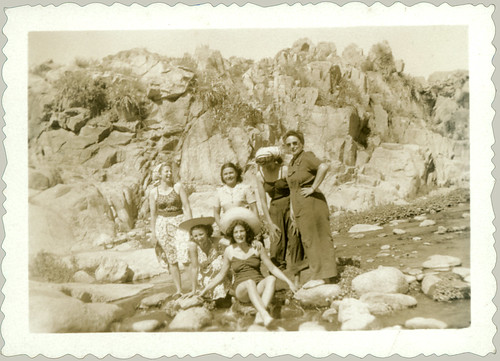 Six Women on the Rocks