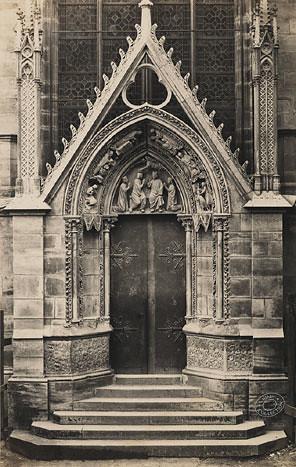 Le Porte Rouge Notre Dame Paris By Auguste Rosalie Bisson C1865