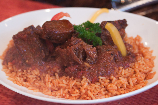 Bolat african cuisine jollof rice flickr photo sharing for African cuisine chicago