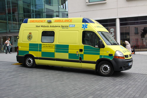 Ambulance Waiting in the Bullring