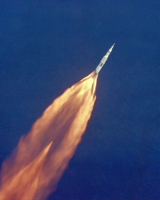 Apollo 11 Launch from Flickr via Wylio