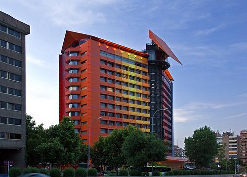 Hotel silken puerta america madrid spain flickr photo sharing - Hotel puerta america ...