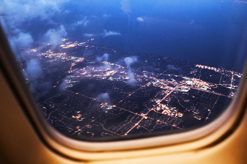 from the window seat