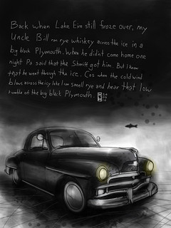 Uncle Bill's Black Plymouth