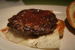 meal, breakfast, steak, hamburger, meat, salisbury steak, food, dish, cuisine,