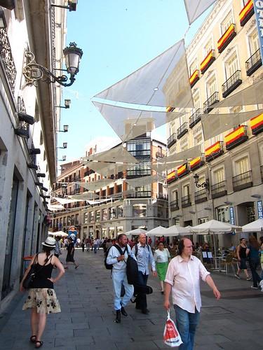 Madrid Pedestrian Street