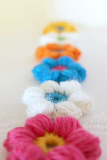 Crochet Flower Puff Pattern : Puff Stitch Flower Crochet Pattern Flickr - Photo Sharing!