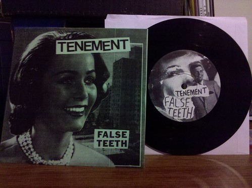 "Tenement - False Teeth 7""- Photocopied Cover /90 by factportugal"