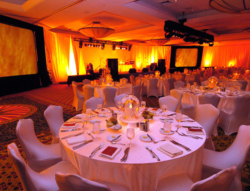 The Fire Themed Room Decor Corporate Event Flickr