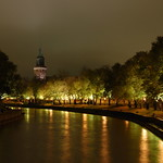 Turku by night
