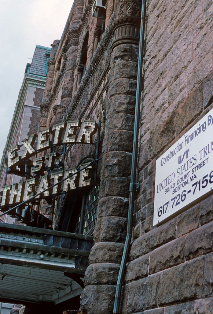 Exeter Street Theatre For Sale 1984