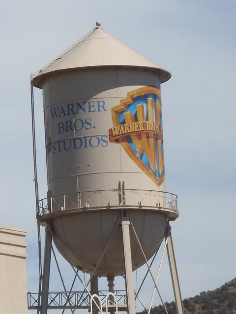 Famous Water Tower at Warner Bros. Studios