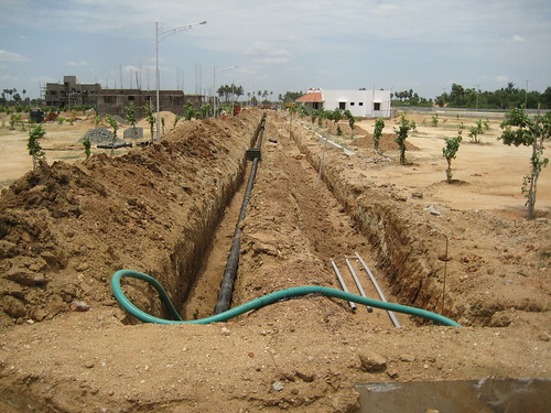 Morais City Project Water connection pipelines