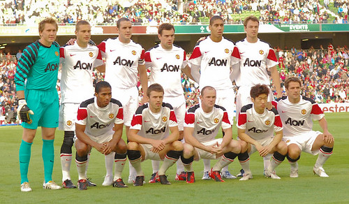 Man Utd Starting XI