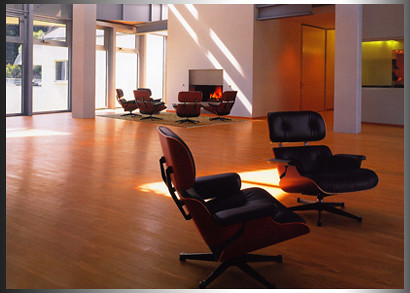 eames lounge leather chair