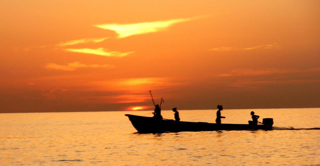 Fishing Boat_Sunset_Montego Bay_Aug10