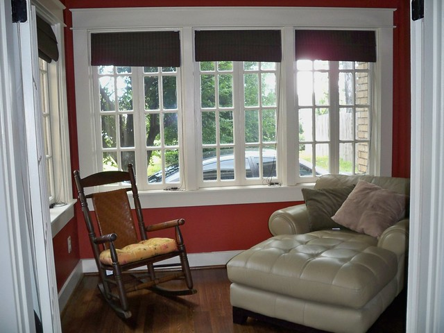 Sunroom window blinds window blinds for Window covering ideas for sunrooms