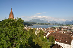 Luzern - View from above the city