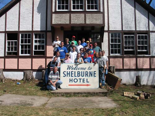 Historic preservation work weekend