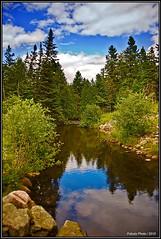 La Rivière du Moulin des Éboulements
