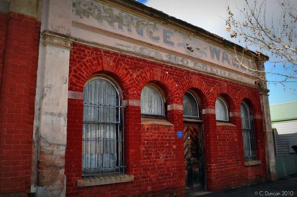 Former Prince of Wales Hotel, Eaglehawk Victoria