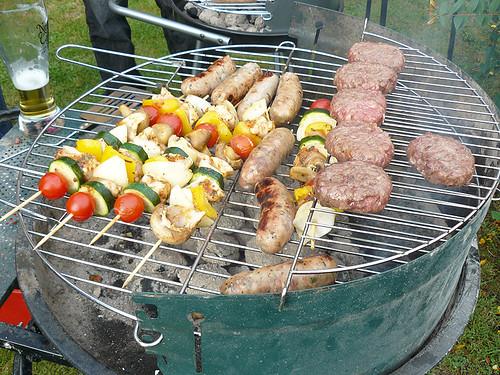 Barbecue eua x brasil