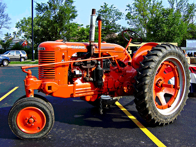 Old Case Tractor : Vintage case tractor flickr photo sharing