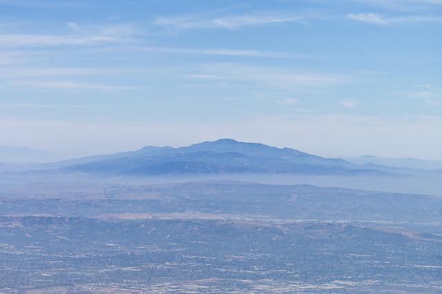 Chino Hills from Mt. Wilson