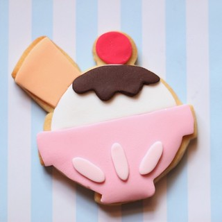 ice cream sundae cookie