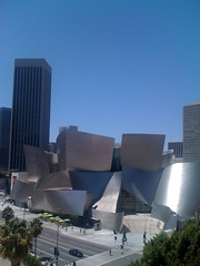 Walt Disney Concert Hall and Downtown LA