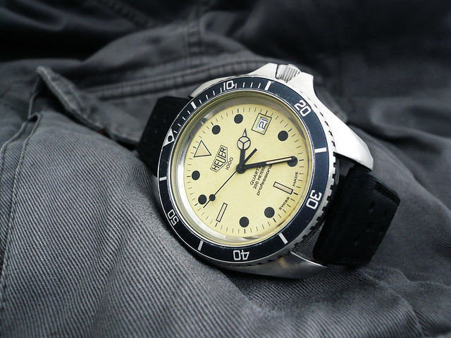 Heuer night diver heuerville - Heuer dive watch ...