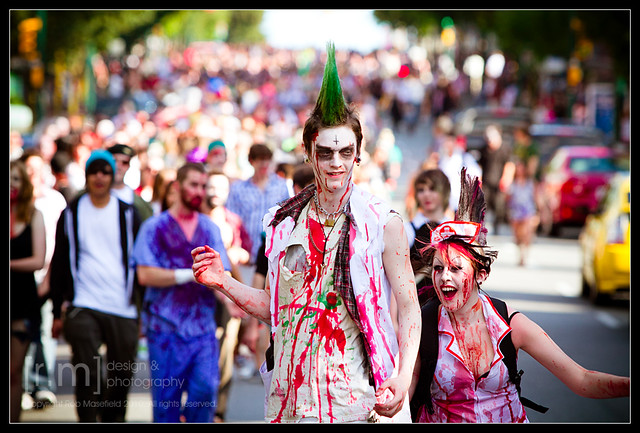 Zombie Walk 2010 - Vancouver, British Columbia