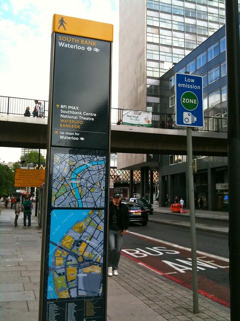 Legible London - Great Street Signs