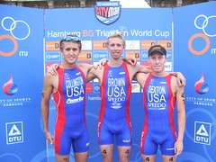 USA Team in Hamburg